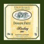 Domaine Fritz Riesling
