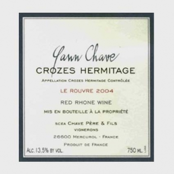 Yann Chave Crozes-Hermitage Rouge